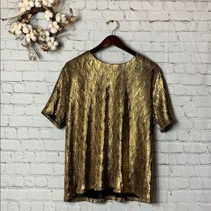 Gold / Black Top